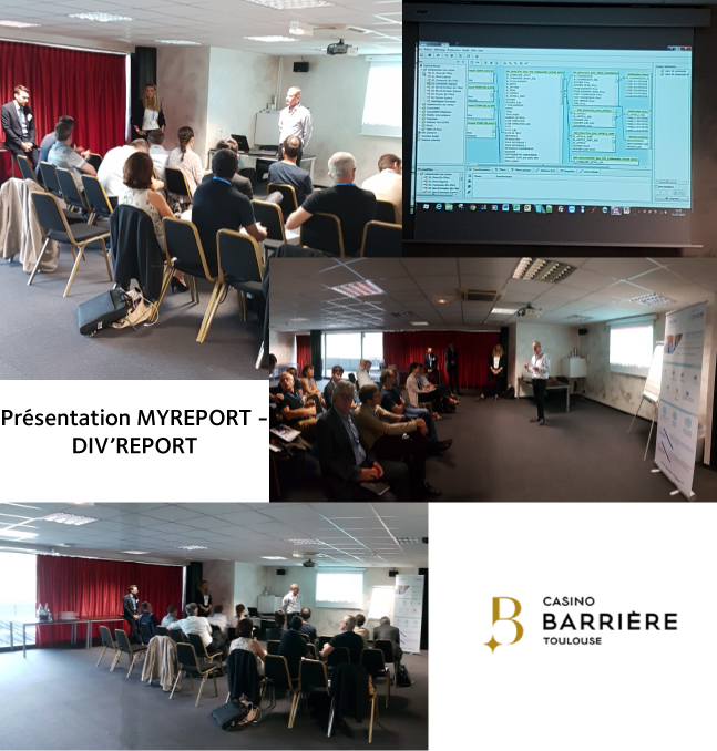 RENCONTRE REPORT ONE - COGESER AU CASINO BARRIERE TOULOUSE