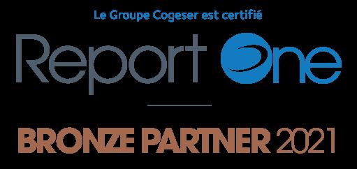 Le Groupe Cogeser est Report One bronze partenaire 2021